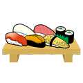 貝づくしの寿司