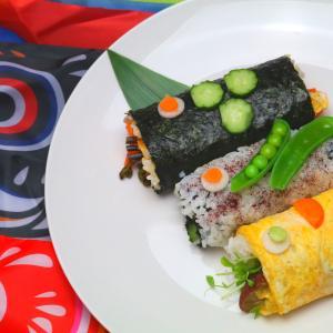 【こどもの日】『食べ比べ!鯉のぼり巻き寿司』、ご予約開始!