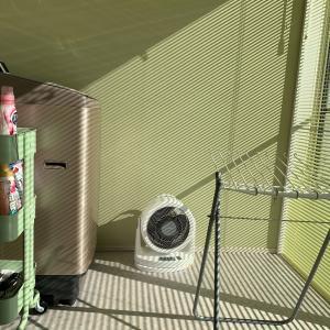 夏場の洗濯室の室温を測定してみた!