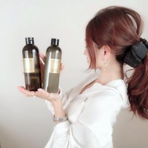 まとめ髪とオーガニックのシャンプー&トリートメント♡