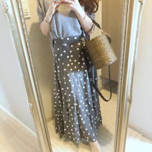 展示会で即決♡色違いを追加したお気に入りスカート
