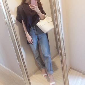 先日のコーデ♡大人のリラックス感あるリネンシャツ
