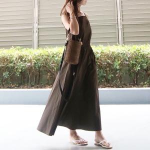 先日のコーデ♡大人な印象で着られるキャミワンピ