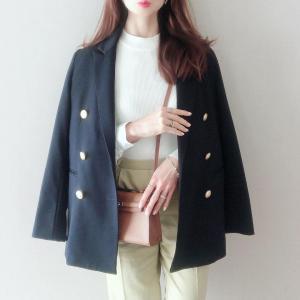 先日のコーデ♡ジャケット×カラーパンツ