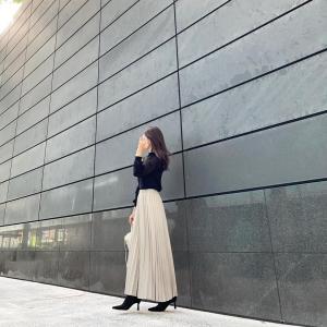 細身え&高見えが叶う!丈が選べる♡プリーツスカート