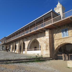 奇跡の巡礼地アポストロス・アンドレアス修道院 (北キプロストルコ共和国)