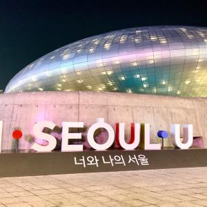 週末ソウル:不夜城、東大門