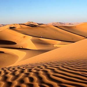 アラブの消えた民族サムードとラクダの足跡1(オマーン)