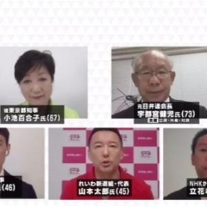 【東京都知事選】山本太郎氏、東京五輪中止訴える