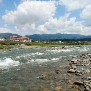 紀ノ川の様子  210525