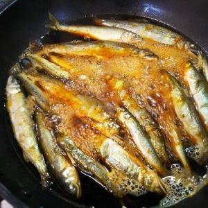 鮎の甘露煮と鮎寿司