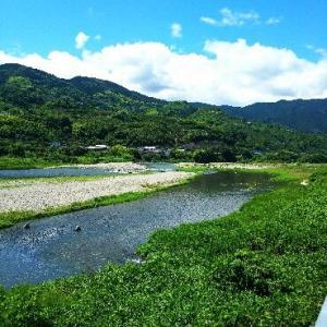 紀ノ川の様子  210617