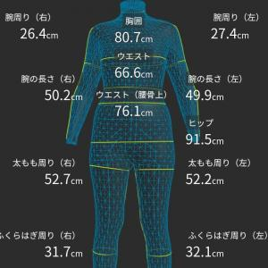 ゾゾスーツ計測11回目(2019.6.30)