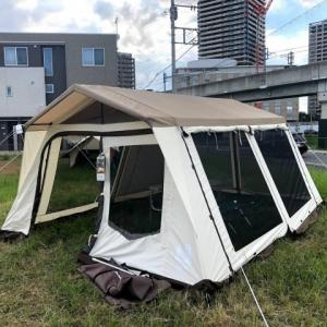 【ロッジ型テント】ogawaのスタッフも愛用「ロッジシェルターT/C 」5つのおすすめポイントと4つの注意点