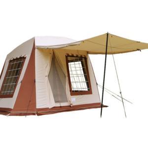 【テンマク】MIGRATEAUR(ミグラテール) ヴィンテージテント風 ロッジテントのおすすめポイントと気になる点 を比較検証