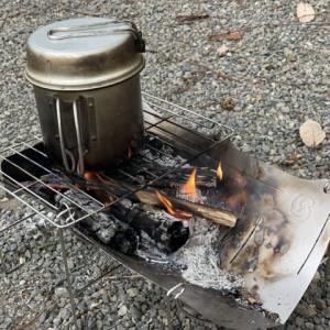 【TABI】ベルモントの軽量焚火台レビュー ULギアの良い点と注意点