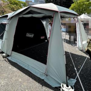 タフスクリーン2ルームハウス/MDX+ /LDX+コールマンのツールームテントはファミリーキャンプテントの完成形か?!