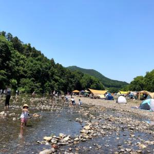 ふらっとキャンプに行きたくなった時には… 巾着田キャンプ場がある!