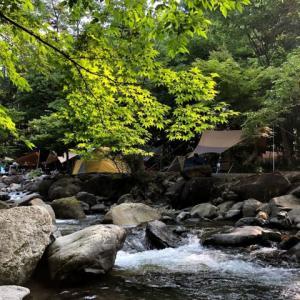 道志の森キャンプ場① 設営場所選びは慎重に! 夏休み期間中の決戦は金曜日