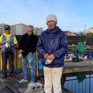 第21回 天釣会 釣り大会11月3日(日)晴のち曇り一時雨