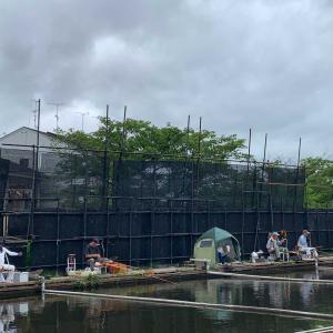 淀の釣り天狗池 釣行記 7月12日(日) 曇り時々晴一時雨