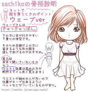 ネットで服を買うときのポイントは?骨格ウェーブタイプの場合〜sachikoの骨格診断
