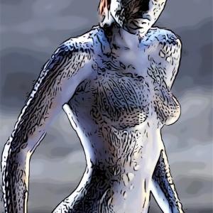 SF映画は、衣装が特殊なのでスタイルの良い女優じゃないと、ね。