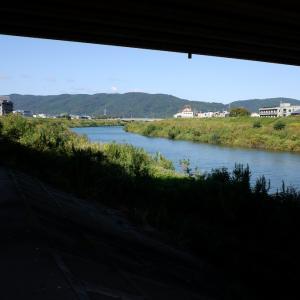 ビニールハウスのある風景。そして川は流れるのです