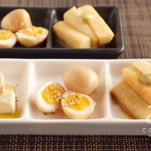 日本酒に合う醤油漬け3品のレシピ・作り方【クリームチーズ・うずらの卵・長芋】
