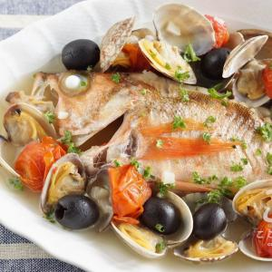 アクアパッツアは日本酒にも合う!旬の魚で作るアクアパッツアのレシピ・作り方