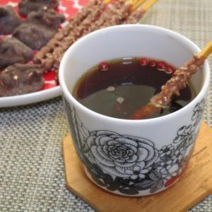 刺激的で甘~い♡スパイスチョコホットティー(ブラック&ピンクペパー入り)