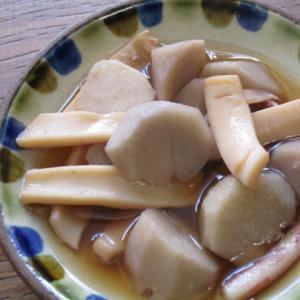 ぱぱっとちゃんと♡いかと里芋の煮物♪