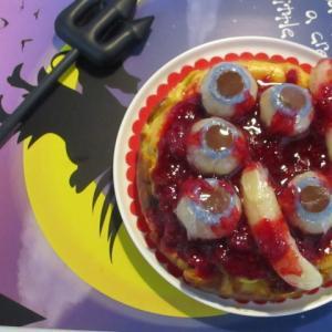 【ハロウィン】グロ美味しい♡魔女の作るベイクドチーズケーキ♪