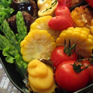夏が旬のお野菜♡お弁当にも焼きとうもろこし~!
