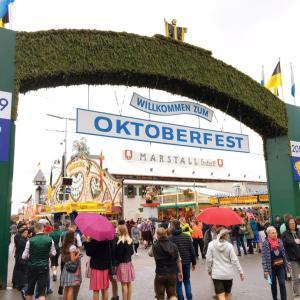 ドイツ ミュンヘンのオクトーバーフェスト観光情報! オランダから車旅