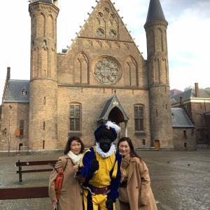 オランダ観光 キンデルダイクの風車群&マウリッツハイス美術館