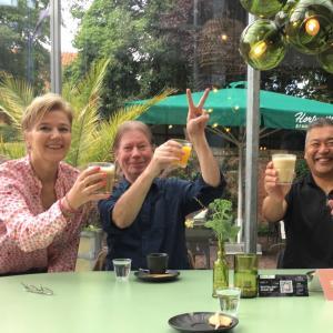 オランダで素敵なサプライズ誕生日会♪