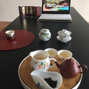オランダで中国茶会♪ライデン近郊にて