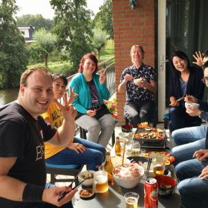 オランダで焼肉パーティー開催!