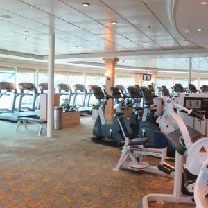 クルーズ旅行で生活リズムを取り戻そう♪@フィットネスセンター~フライ&クルーズで香港発着ボイジャー・オブザシーズ乗船記ー2019.8月・本編4-3