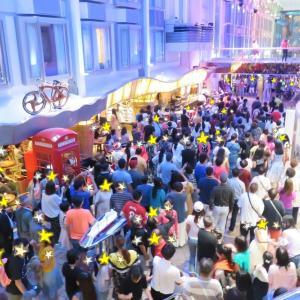 ロイヤルプロムナードで深夜までダンス♪~フライ&クルーズで香港発着ボイジャー・オブザシーズ乗船記ー2019.8月・本編6-5
