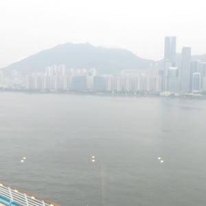 香港・啓徳クルーズターミナルに入港♪~フライ&クルーズで香港発着ボイジャー・オブザシーズ乗船記ー2019.8月・本編7-1