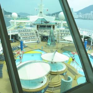 (改装前の)ボイジャー・オブザシーズ船内探検⑤~フライ&クルーズで香港発着ボイジャー・オブザシーズ乗船記ー2019.8月・番外編5