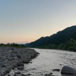 立谷沢川でさらに粘って寒河江川方面へ~2021年山形遠征記4(7日目)