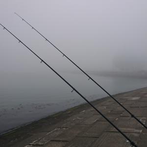 4/10 第13ラウンド 5:00~7:30 石狩湾新港花畔カーブ ガスタンク横  気温2度