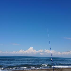 9/20 第41ラウンド 5:20~11:30 石狩浜 あそびーち グイウ1匹 気温14~24度