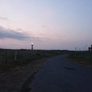 7/20 第38ラウンド 3:45~9:00  あそびーち北側 ルアーの旅 22度~27度 アタリが無い・・・・