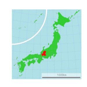 日本の中心にて…