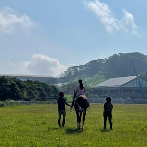 リヒトで引き馬体験