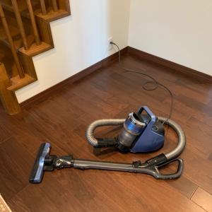 掃除機を簡単にかける方法
